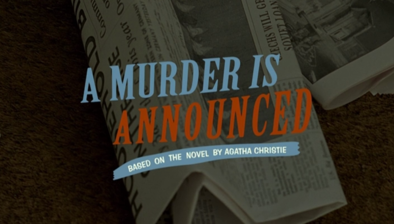 Marple | A Murder Is Announced