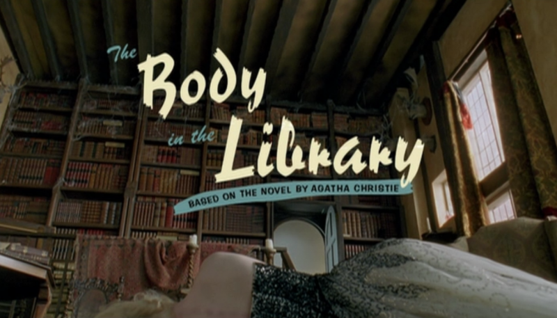 Marple | The Body In The Library